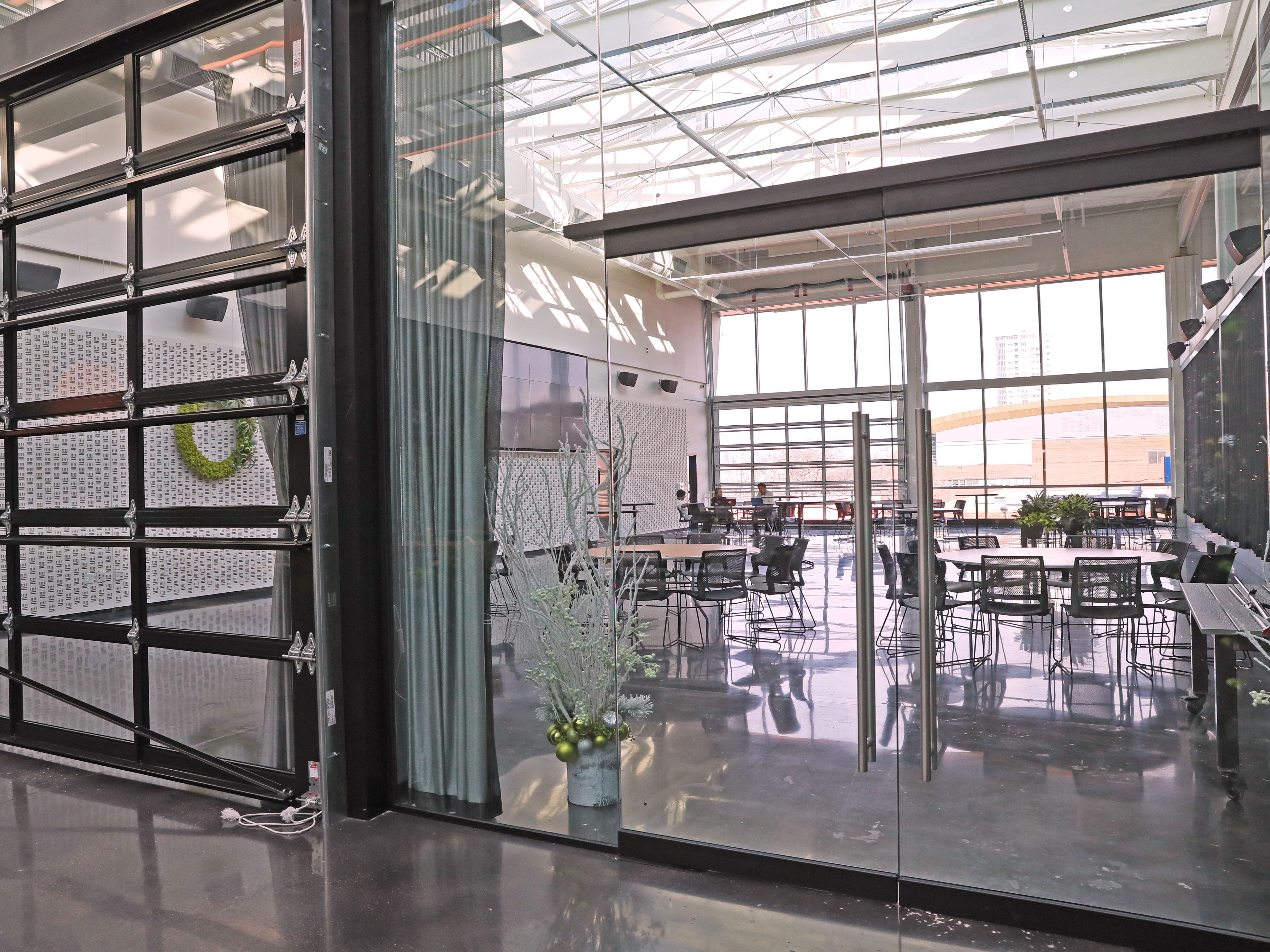 Banquet space called Venue 42 is at the eastern end of Glass + Griddle.