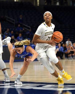 Allazia Blockton is the all-time leading scorer in Marquette women's basketball history.