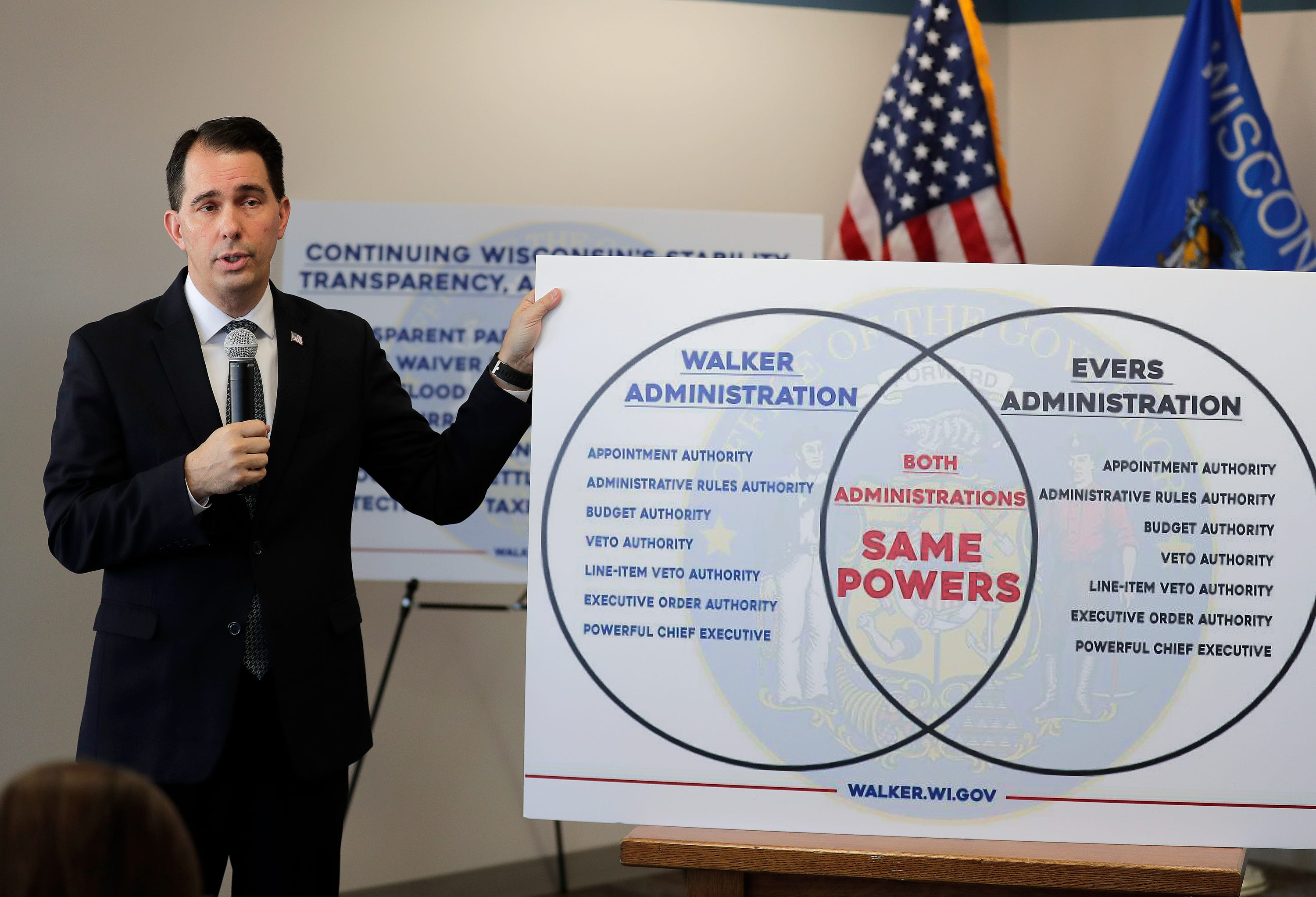scott walker gets flack on social media for his venn diagram