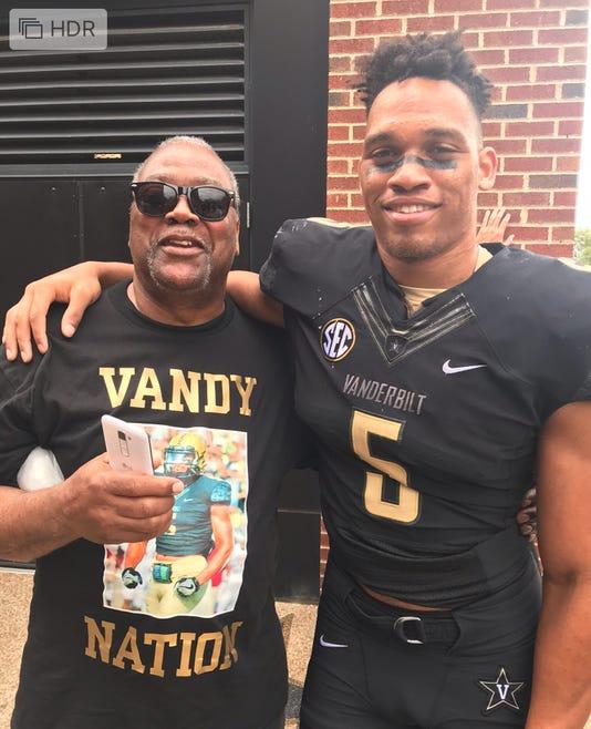 LaDarius Wiley and dad