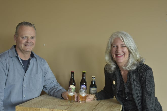 John and Trish Nelson are opening Flytes Brewhouse, located at 176 Village Square in Pleasant View.