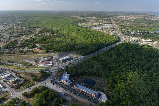 Florida's Four Corners Aerial