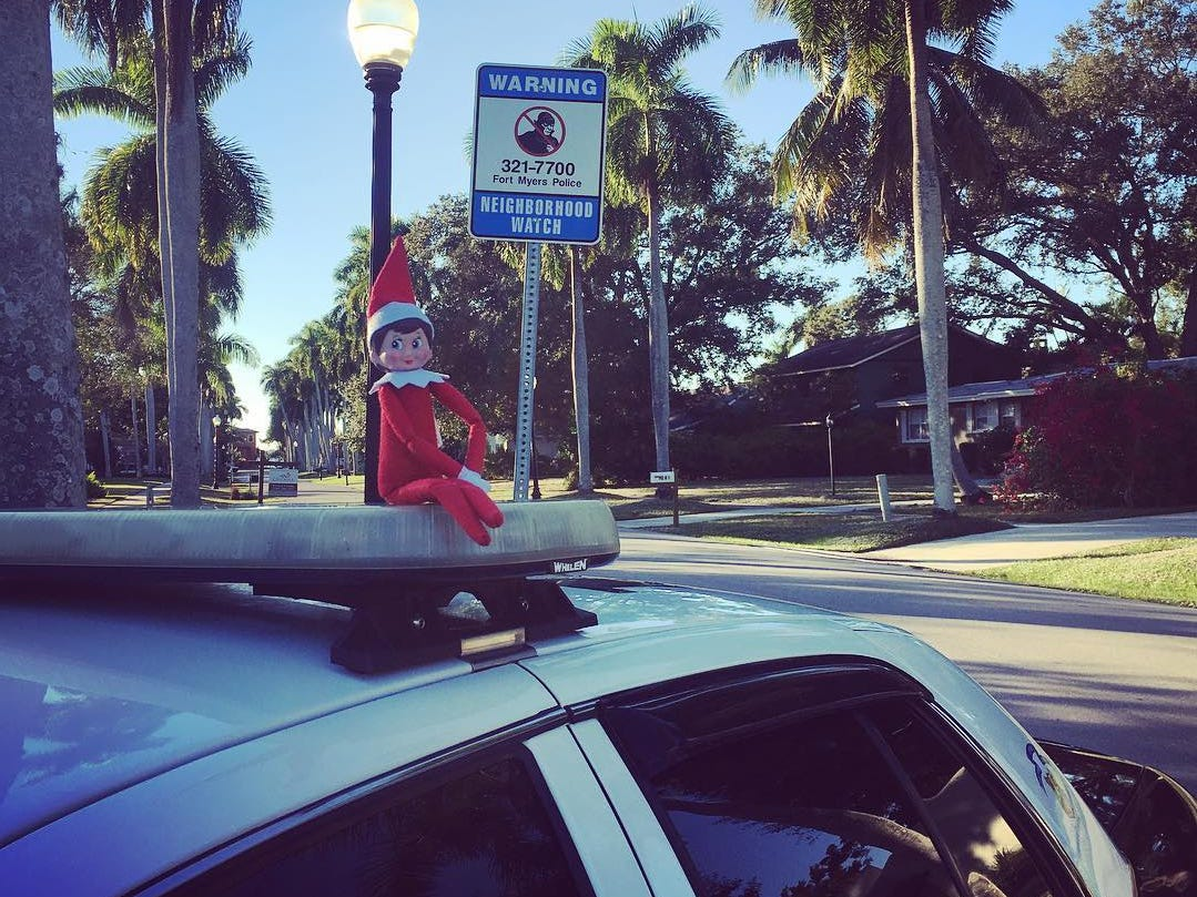Buddy is in the McGregor area and asking residents in Fort Myers to lock your doors.