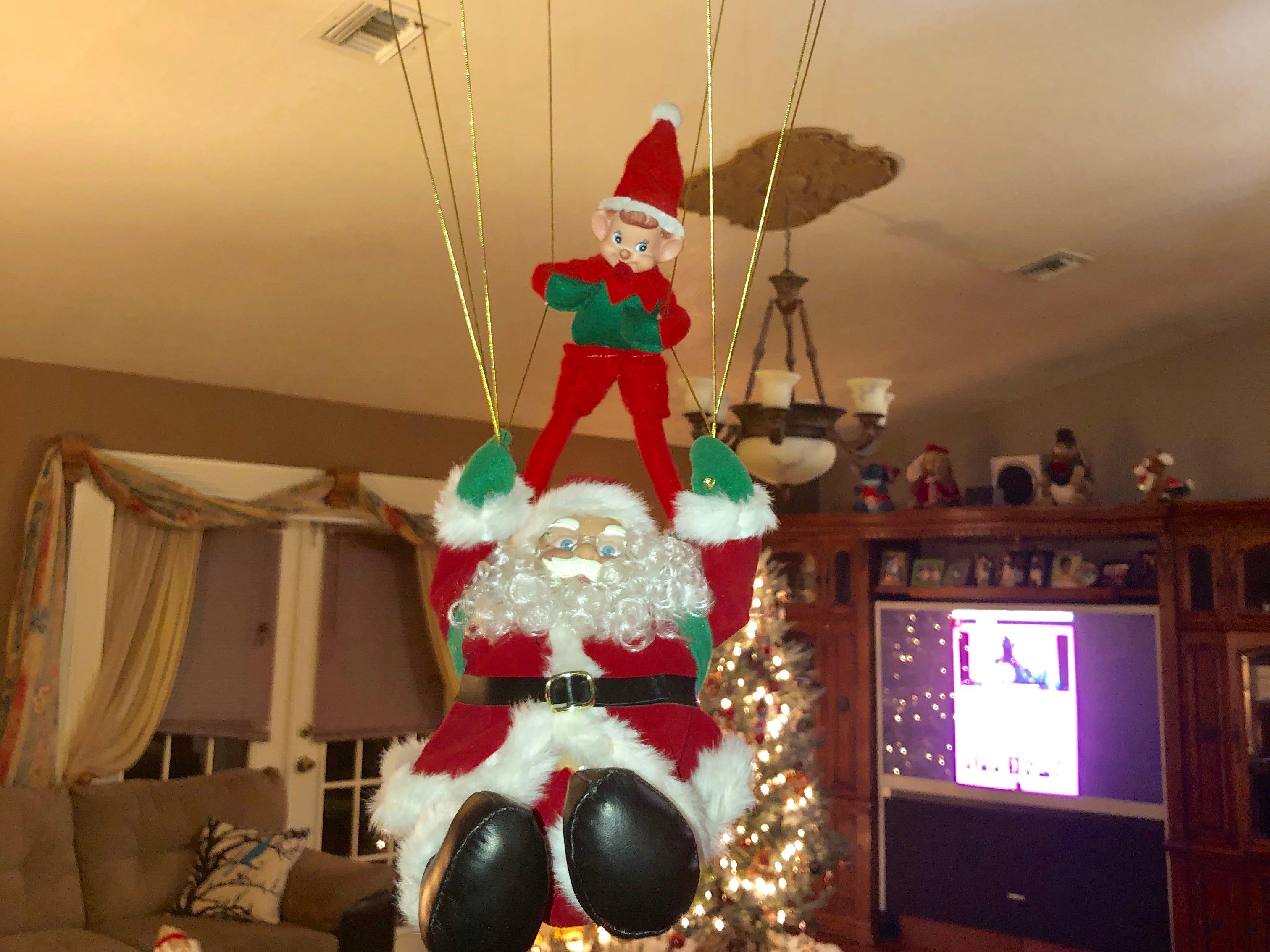 Our elf Bimbo.