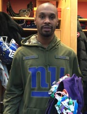 NY Giants WR Russell Shepard talks about the significance behind the more than 80 security tags on his backpack and how they represent his NFL journey.