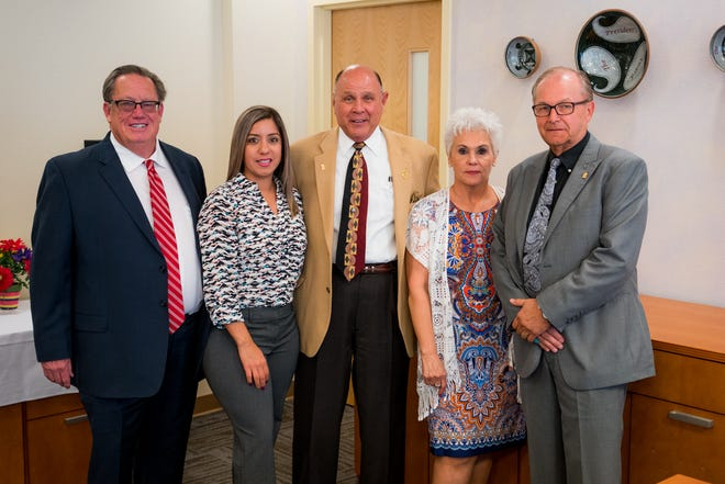 Western New Mexico University regents, fromleft, Jerry Walz, Arlean Murillo, Carl Foster, Janice Baca-Argabright and Dan Salzwedel met Thursday, Dec. 13, 2018