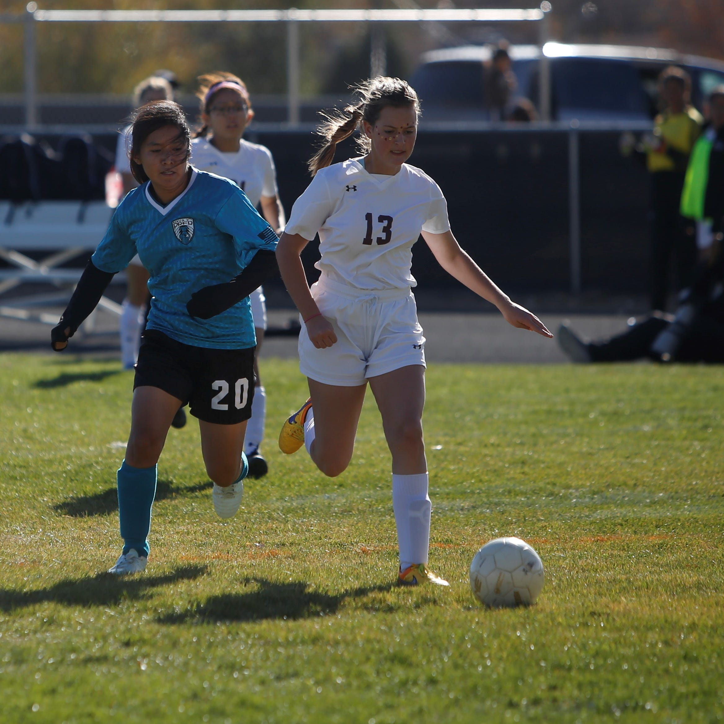 7 Lady Eagles earn All-State soccer honors