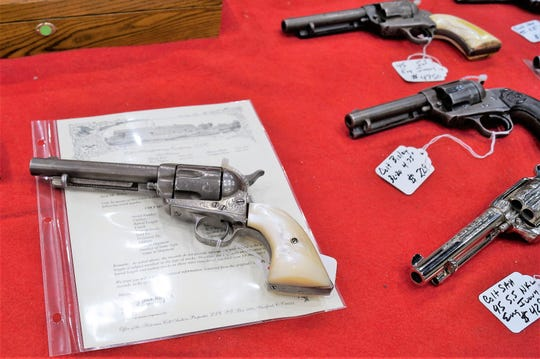 Several gun shows are staged in Ruidoso every year.