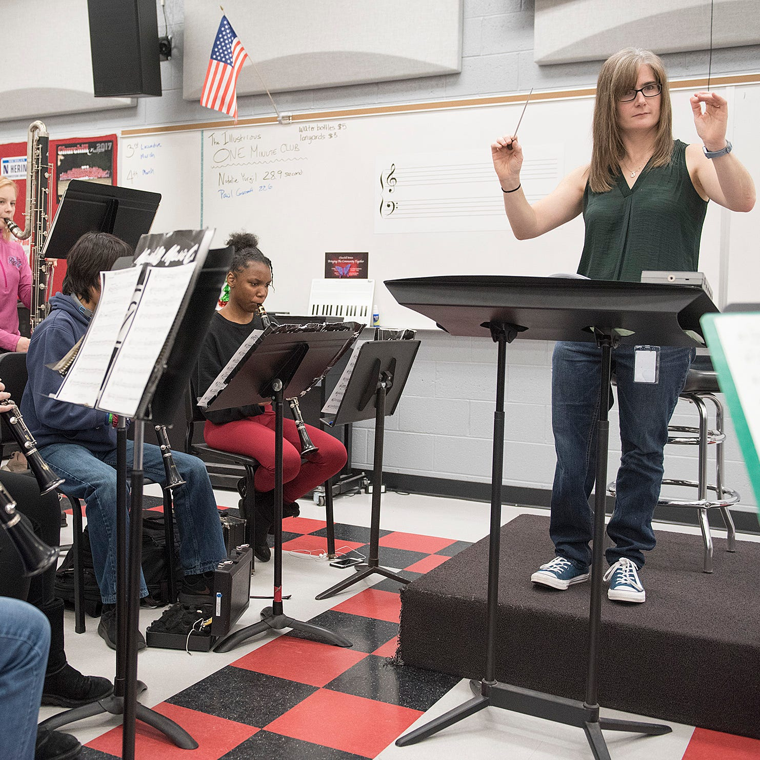 Churchill music teacher in line to win Grammy Award