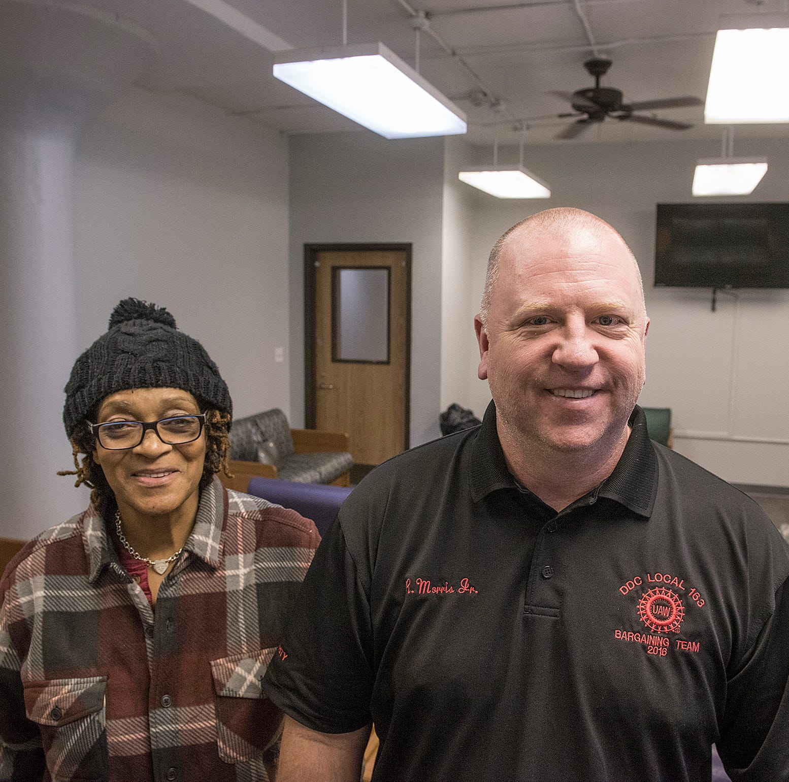 UAW Local 163 steps up to help renovate Westland homeless shelter