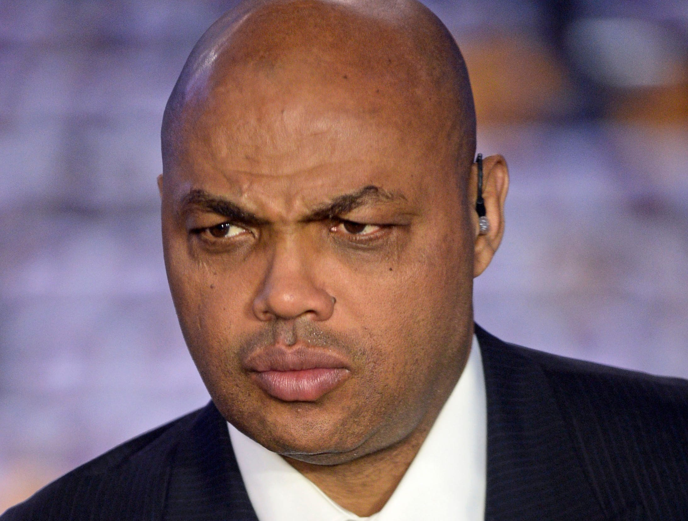 May 24, 2016; Oklahoma City, OK, USA; TNT commentator Charles Barkley before the game between the Golden State Warriors and Oklahoma City Thunder in game four of the Western conference finals of the NBA Playoffs at Chesapeake Energy Arena. Mandatory Credit: Mark D. Smith-USA TODAY Sports