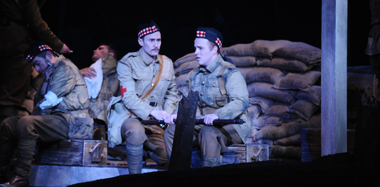 Silent Night depicts the miraculous heart of the human spirit – even during war.