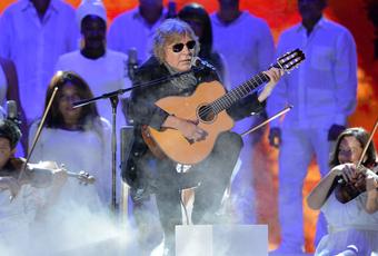 José Feliciano está ahora en Roma, donde actuará este 15 de diciembre en el concierto anual de vacaciones del Vaticano.