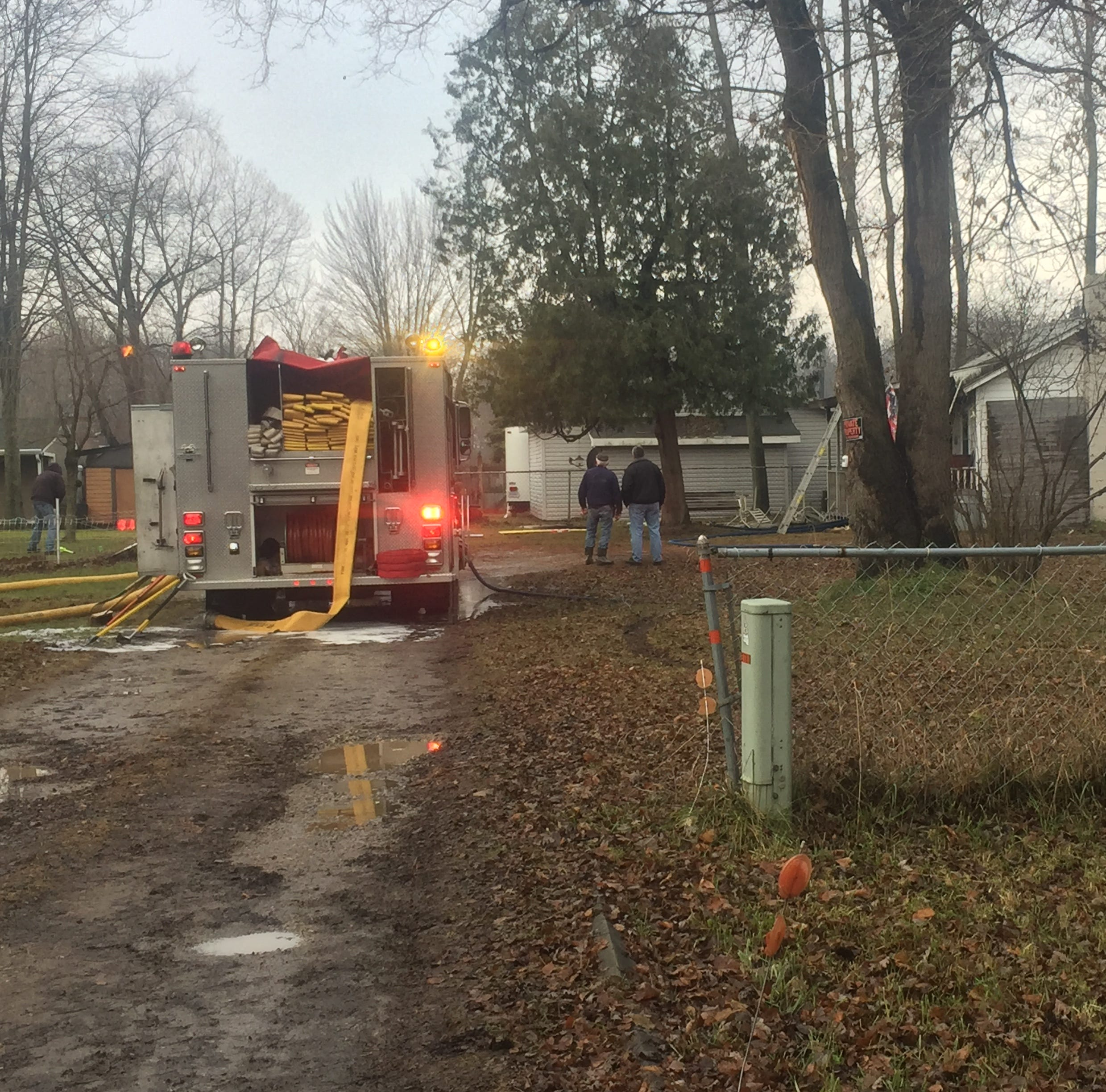 Man dies in Burtchville house fire