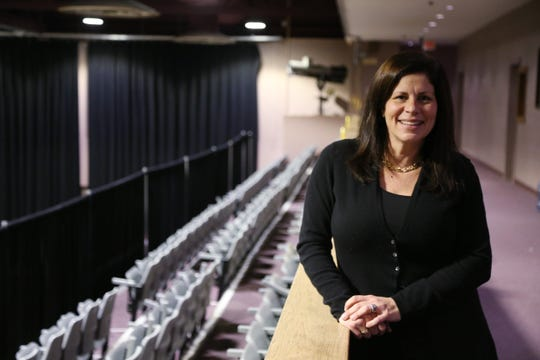 Danielle Anderson president of the Mid-Hudson Civic Center on December 13, 2018. The civic center will be renamed the  Majed J. Nesheiwat Convention Center due to a large donation from the local businessman which will allow for facility upgrades and renovation.