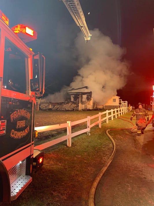 Creek Road House Fire