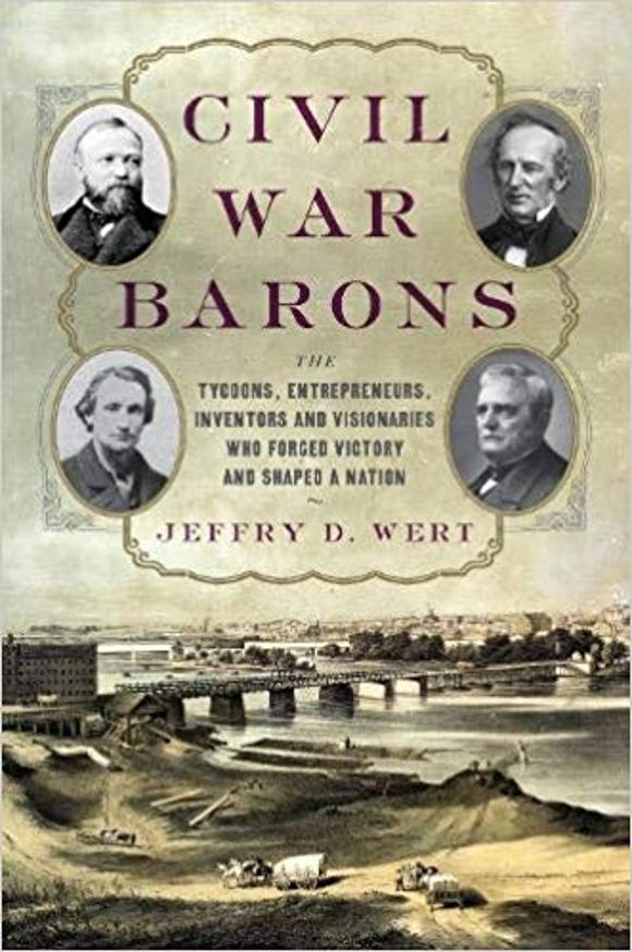 Jeff Wert points out that Borden's condensed milk was made in York in the Civil War.