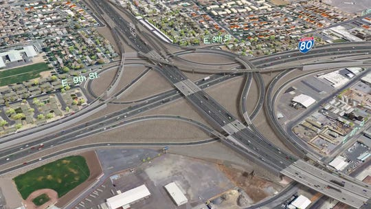 The new Spaghetti Bowl under NDOT's preferred alternative plan.