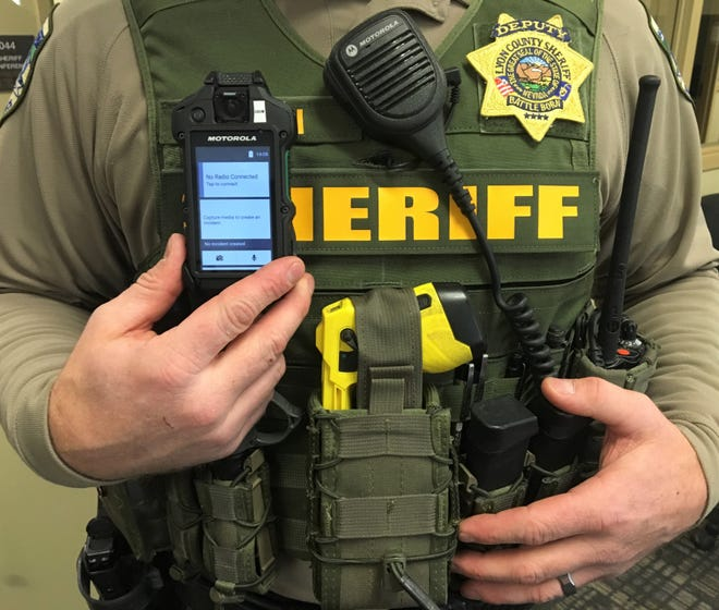 Lyon County deputies are now outfitted with body cameras.