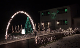 Take a look at the lights on Academy Drive in Henrietta