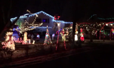 Neighbors on St. Patrick Drive light up the night!