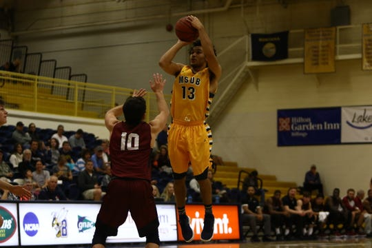 Tyler Green elevates for a jump shot.
