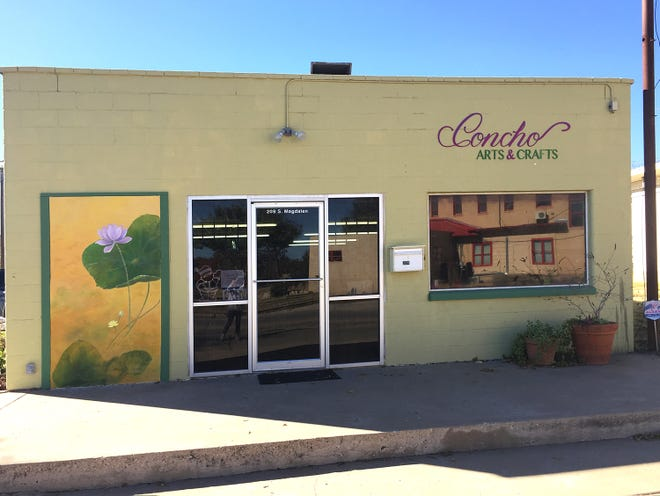 Concho Arts and Crafts,  at 209 S. Magdalen St., sells handcrafted and imported gifts as well as art classes.