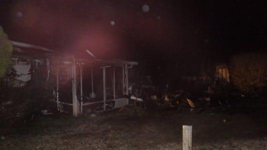 Mardela Garage Fire