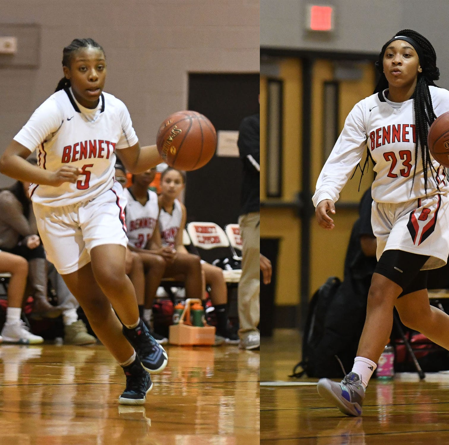 James M. Bennett girls basketball has 'Big 3' running the show
