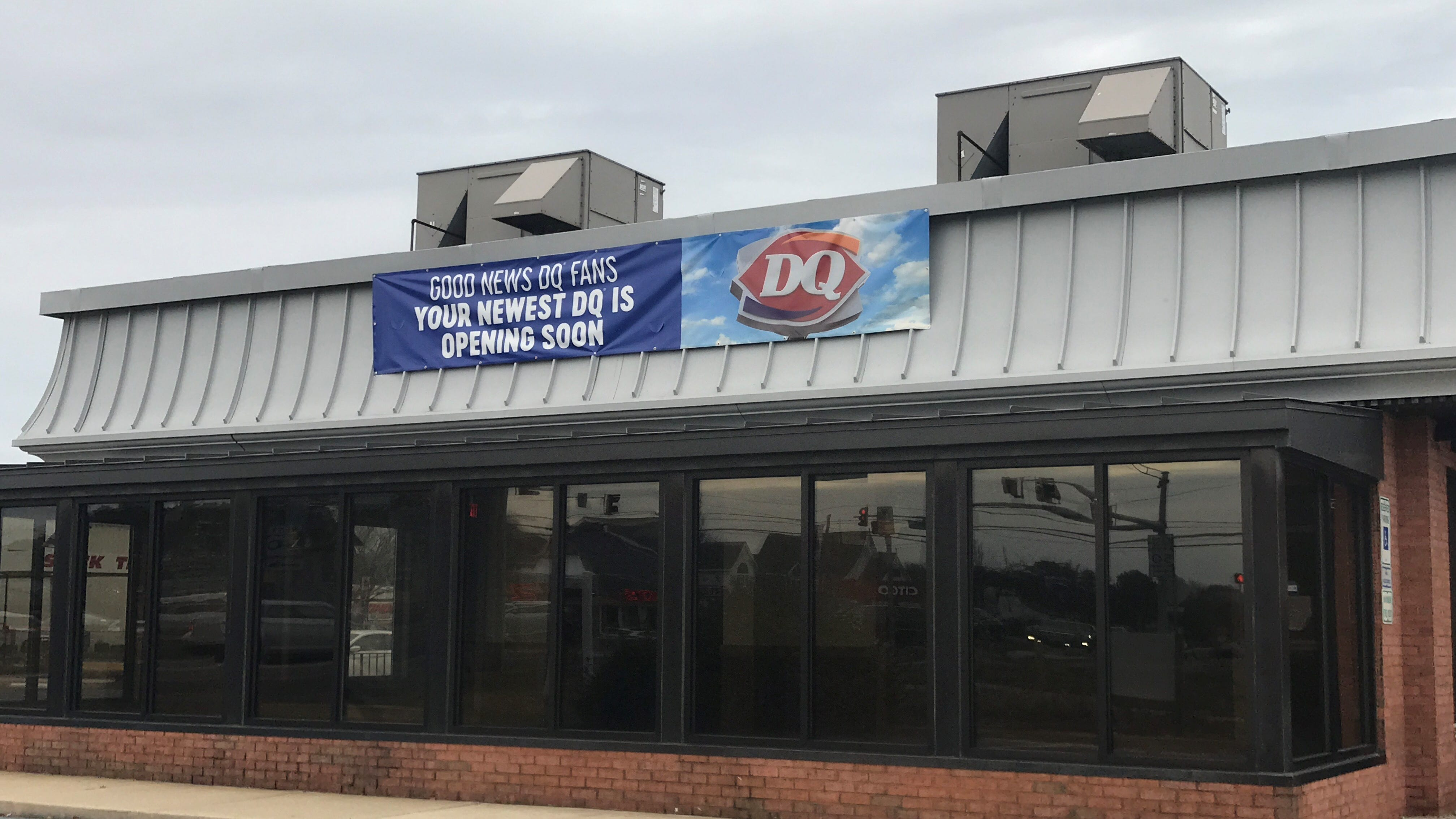 A new Dairy Queen is opening outside the White Marlin Mall.