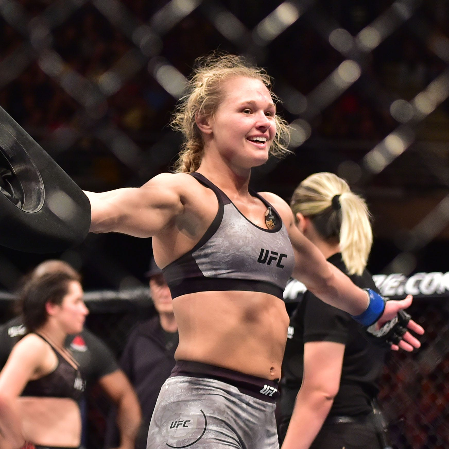 Shreveport's Andrea Lee ready for Sunday's UFC on ESPN 1