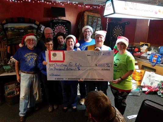 Dr Lions Donate 1k Christmas Kids 111718