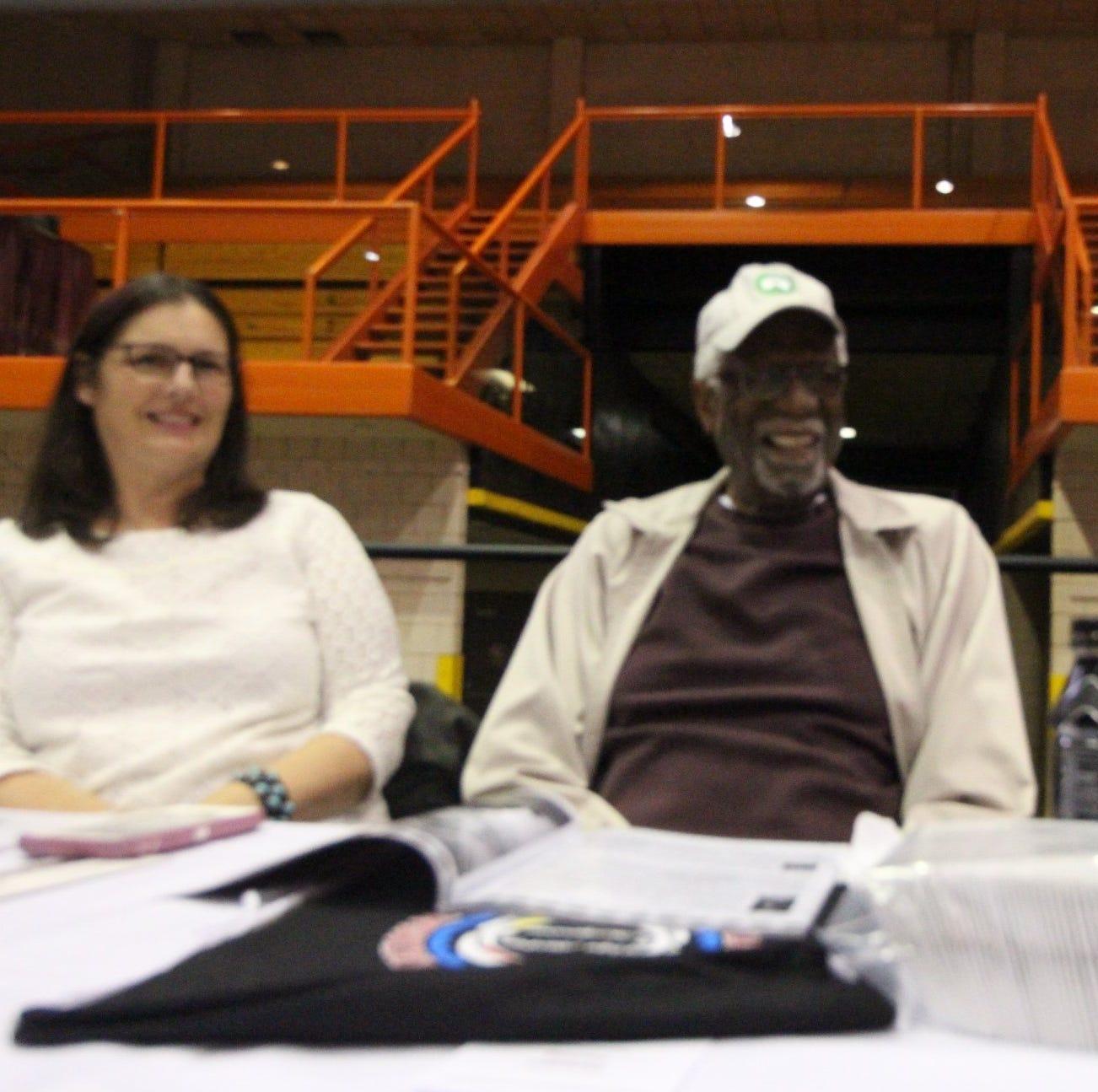 NBA legend Bill Russell visits Rapid City for Lakota Nation Invitational on Thursday