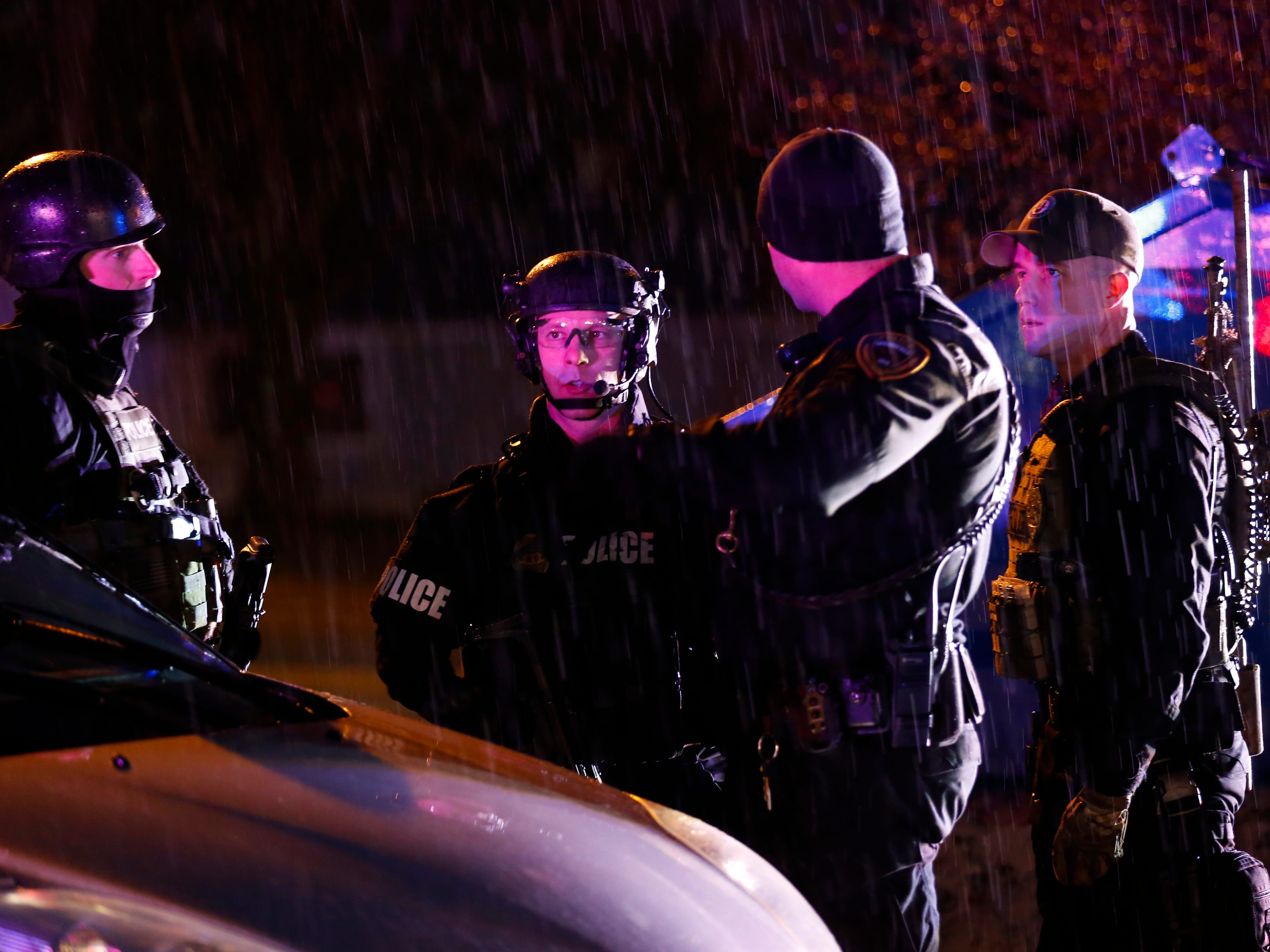 Police: One shot at apartment complex on Battlefield