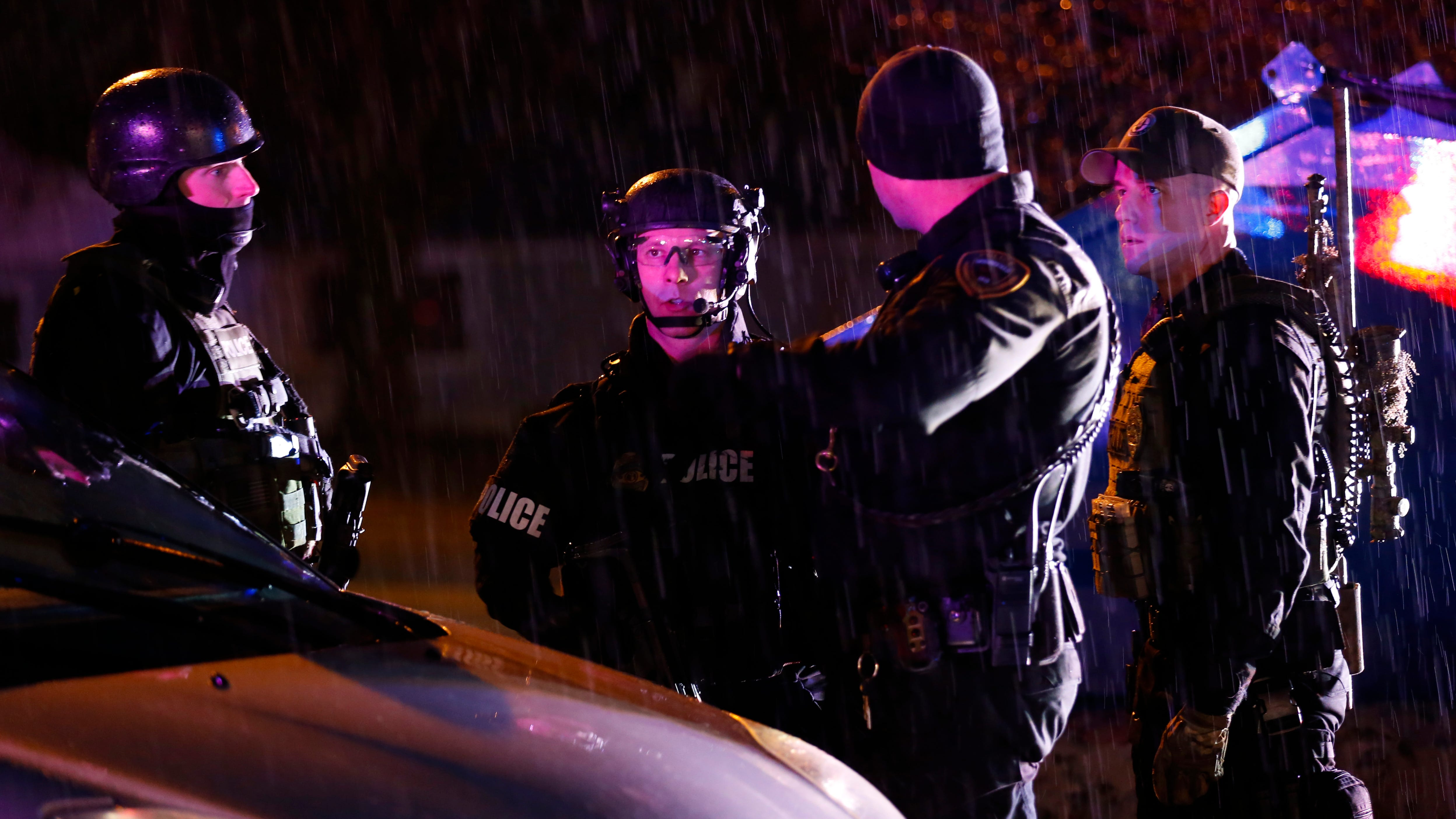 Springfield police responded to a shooting at the Essex Place Apartments on West Battlefield Road on Thursday, Dec. 13, 2018.