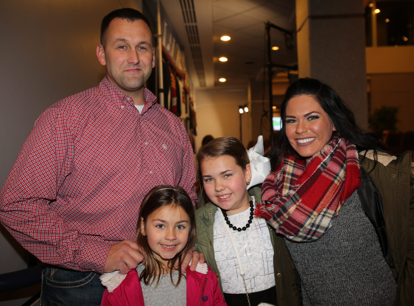 Travis, Kinsey, Reese, and Rylann Long