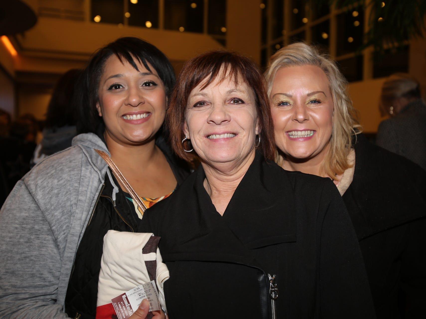 Morrisa and Vicki Whitworth and Jessica Cook