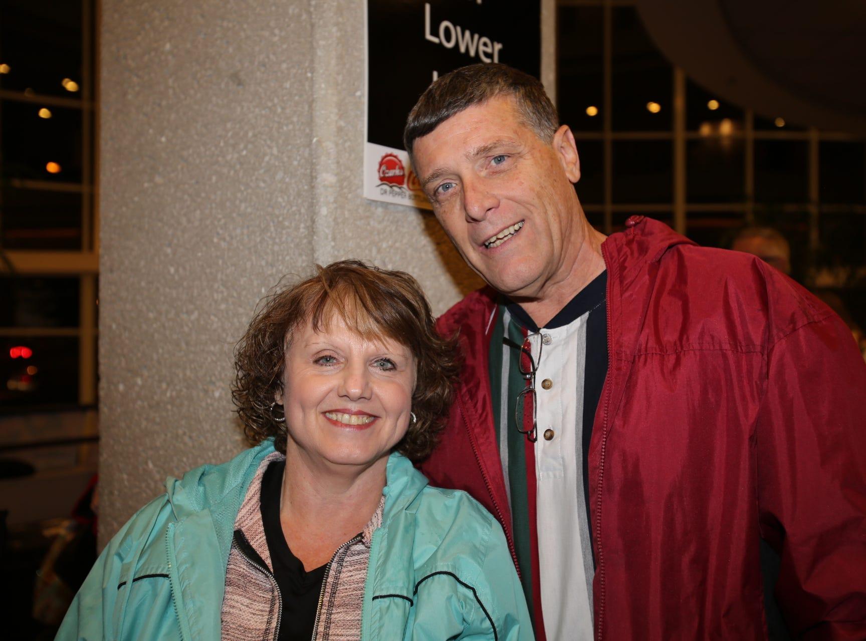 Debbie and Frank Webster