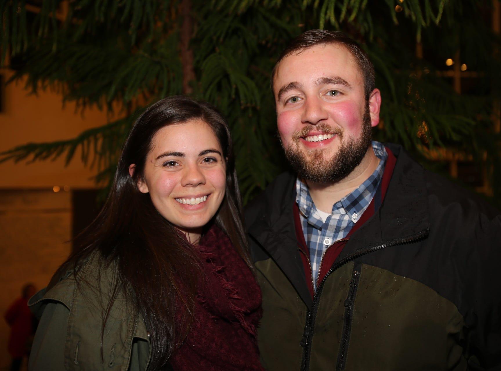 Katie and Matthew James