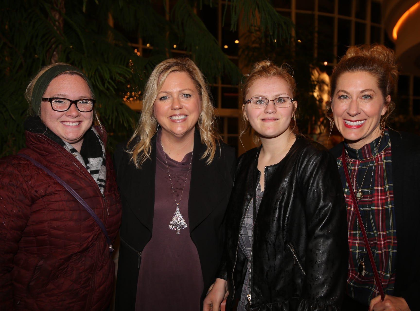 Katie, Nancy, and Annya Bogart and Lisa Schwarz