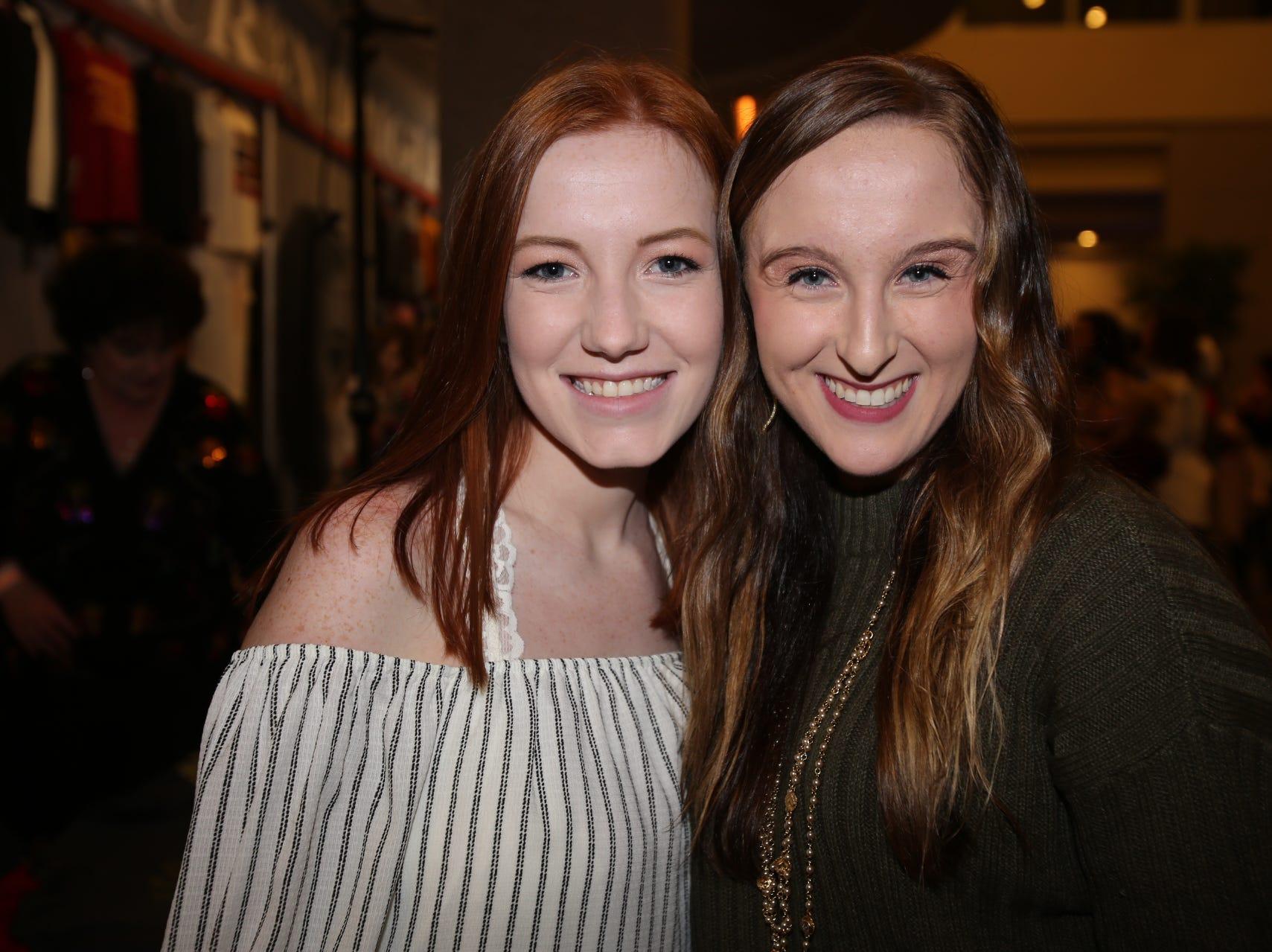 Sylvia Haase and Alexa McQueary