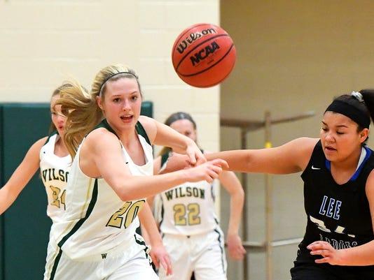 R E Lee At Wilson Girls Basketball