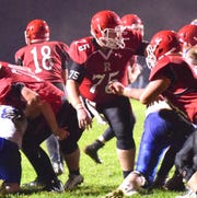 First-team Offense: Gage Maxfield, C, Jr., Riverheads — First team All-Shenandoah District and All-Region 1B