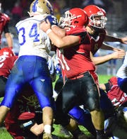 First-team Offense: Collin Armstrong, OL, So., Riverheads — First team All-Shenandoah District and All-Region 1B.