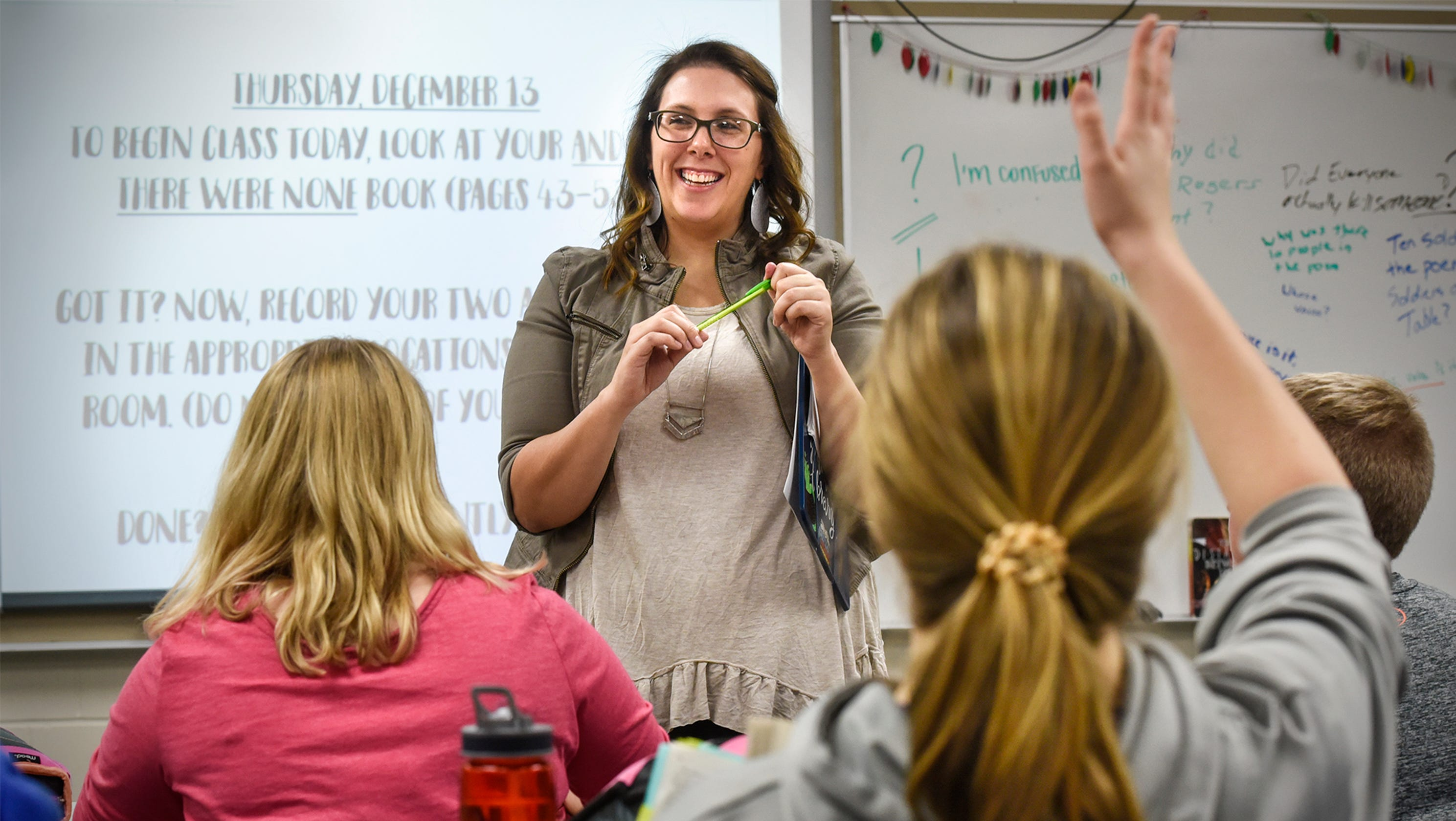 albany 8th grade teacher wins middle school teacher of year