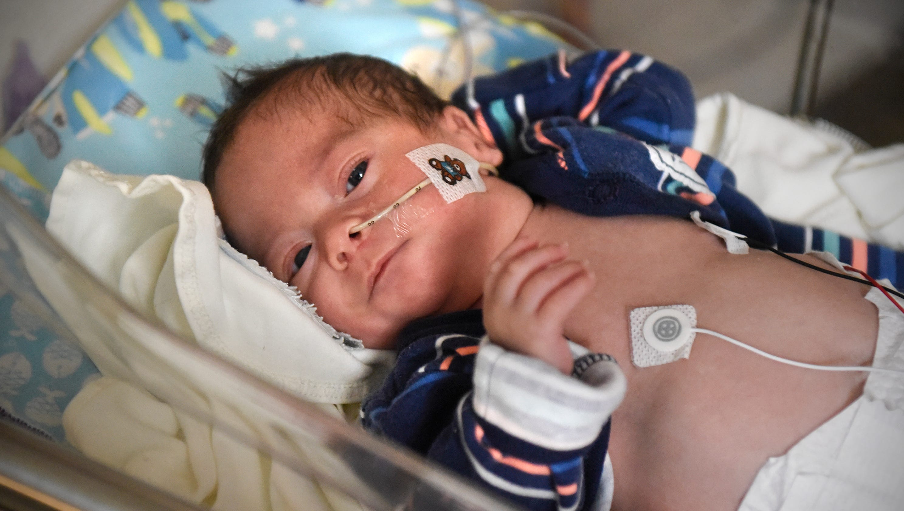 St Cloud Premature Babys First Christmas Spent In NICU