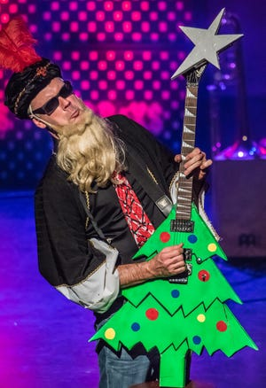 """""""Rock and Roll Christmas Spectacular"""" returns to the Paramount Center for the Arts stage Dec. 23, 27, 28 and 29."""