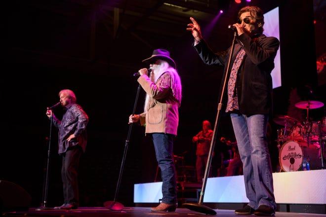 The Oak Ridge Boys perform at the America First Event Center Thursday, December 13, 2018.