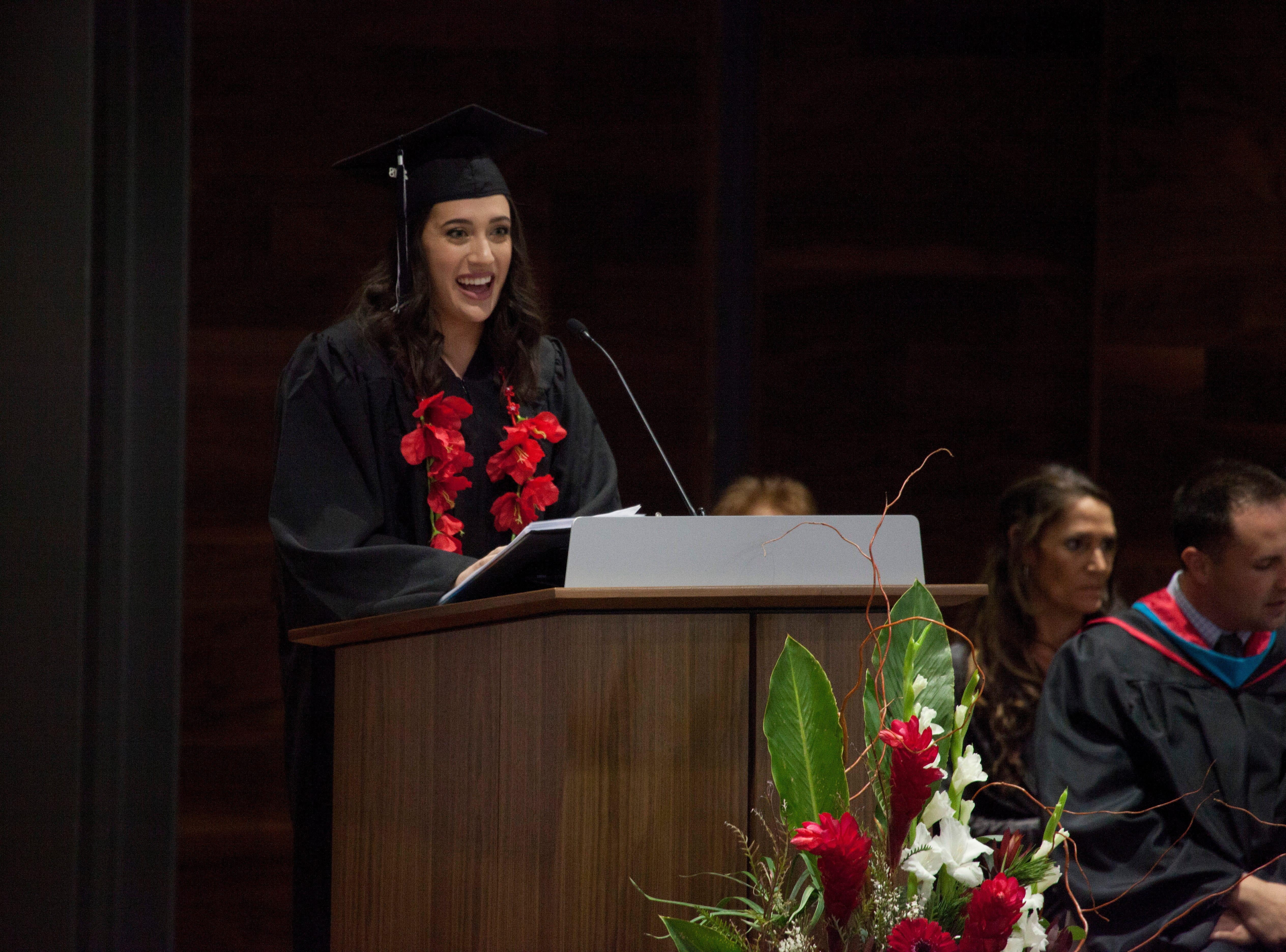 Dixie Technical College commemorates their 2018 graduating class Thursday, Dec. 13, 2018.