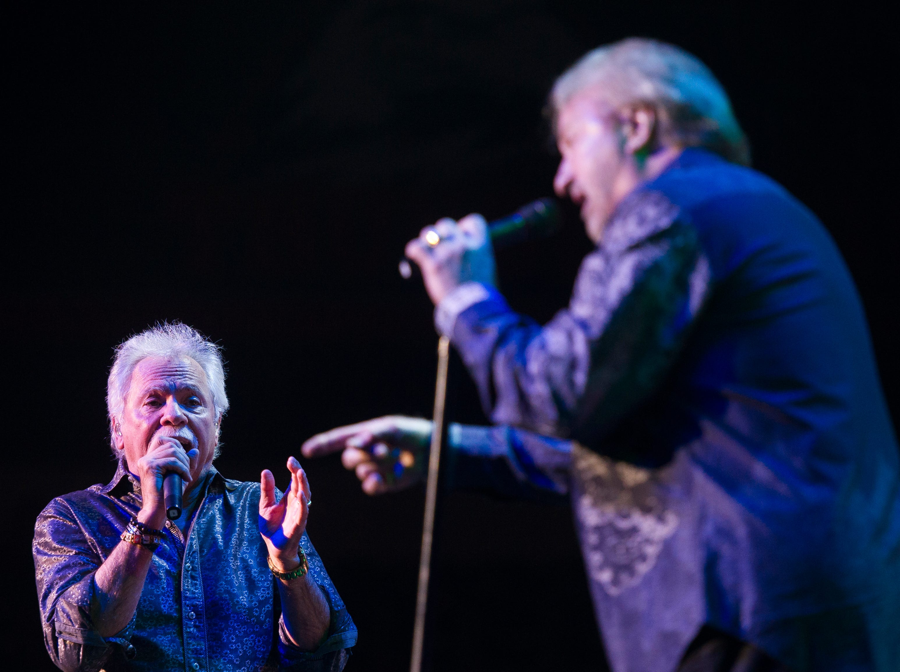 The Oak Ridge Boys perform at the America First Event Center Thursday, December 13, 2018.